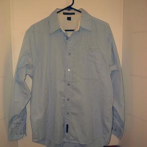 Port Authority Long Sleeve Light Blue Shirt
